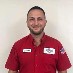 Andrew Westpfahl, Service Technician for Reimer Home Services.