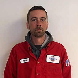 Keith Backstrom, Lead Installer for Reimer Home Services.