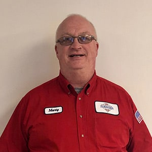 Marty Rosso, Journeyman Plumber for Reimer Home Services.